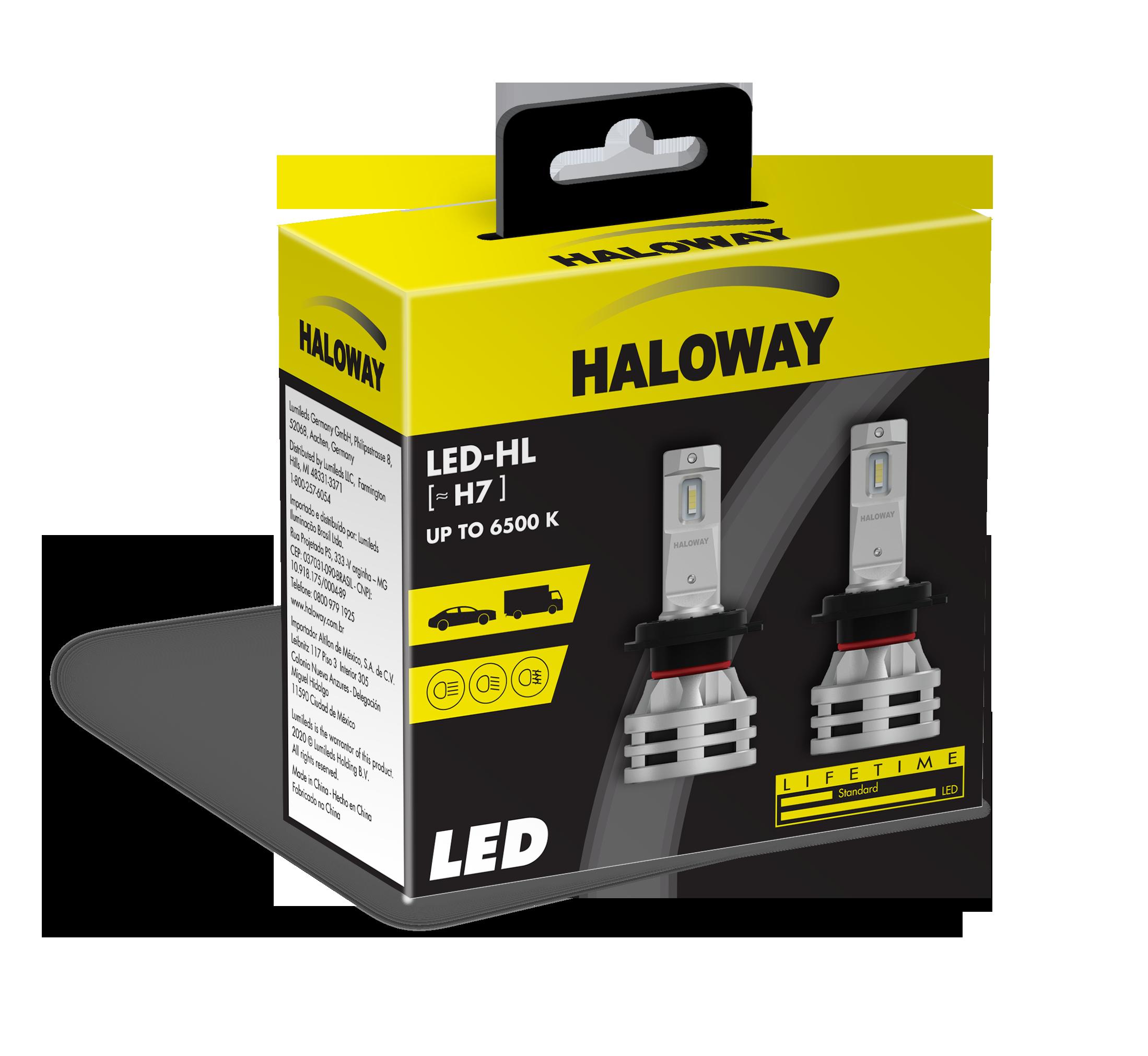 LED H7 HAL